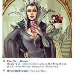 Instagram : Blanche-Neige & la Reine Sorcière