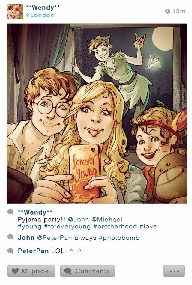 Instagram : Peter Pan