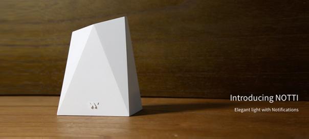 Notti : La lampe connectée et design