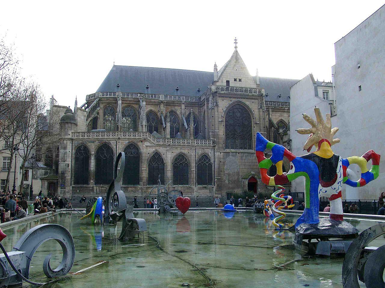 Google niki de saint phalle l 39 artiste en doodle weblife - Fontaine beaubourg niki de saint phalle ...