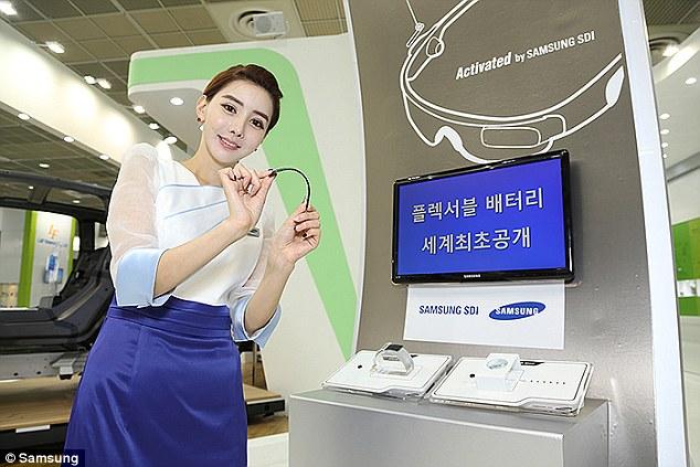 Samsung : Batterie souples