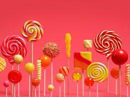 Logo Android 5 Lollipop