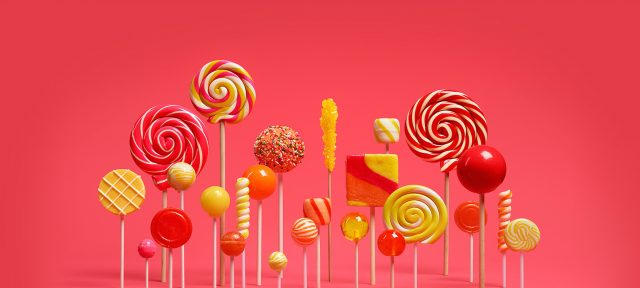 Logo Android 5 Lollipop