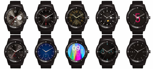 Android Wear : Cadrans de montre personnalisables