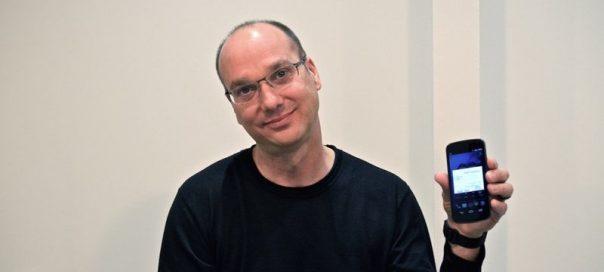 Android : Le créateur de l'OS, Andy Rubin, quitte Google