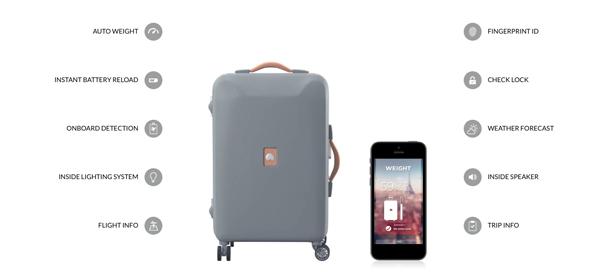 Delsey invente la valise connectée