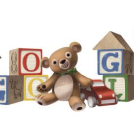 Google : Journée internationale des droits de l'enfant en doodle