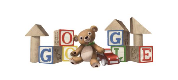 Google : Doodle Journée internationale des droits de l'enfant