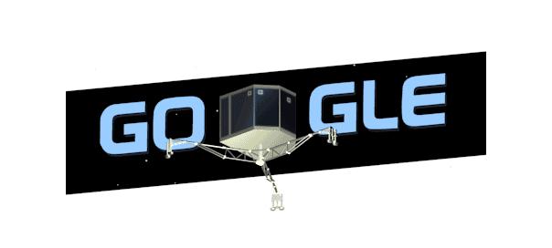 Google : Doodle Philaé atterrisseur