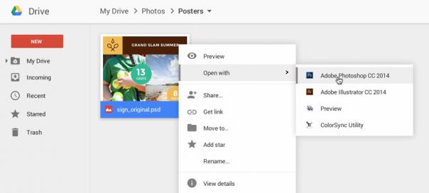 Google Drive : Accès aux applications de bureau via Chrome