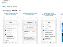 Bouton Obtenir App Store