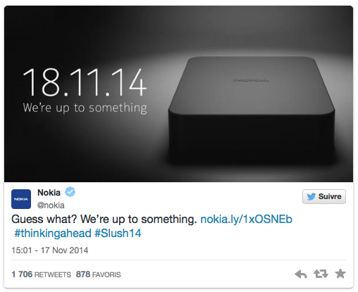 Teaser Nokia
