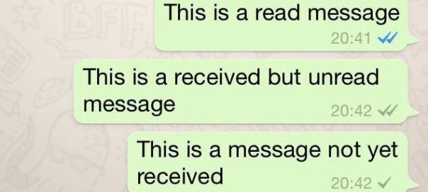 WhatsApp : Les messages lus enfin identifiés