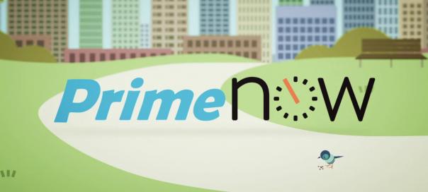 Amazon Prime Now : Livraison en 1h à Manhattan