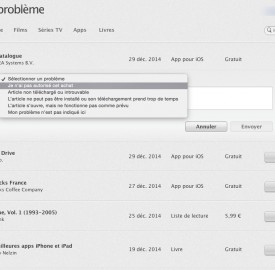 Produits iTunes : 14 jours pour se faire rembourser