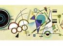 Google : Vassily Kandinsky et l'art abstrait en doodle