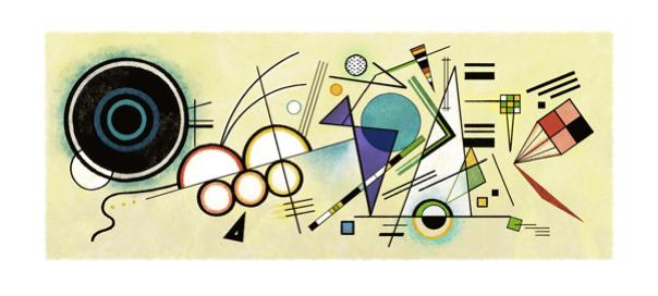 Google : Doodle Vassily Kandinsky