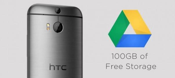 HTC : 100 Go d'espace gratuit sur Google Drive