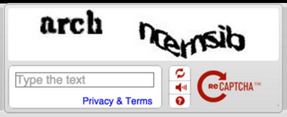 reCAPTCHA : Ancienne API
