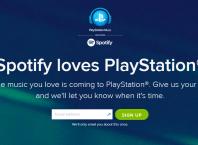 PlayStation Music : Spotify et PlayStation