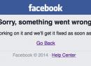Facebook & Instagram : Indisponibles depuis le web et l'app
