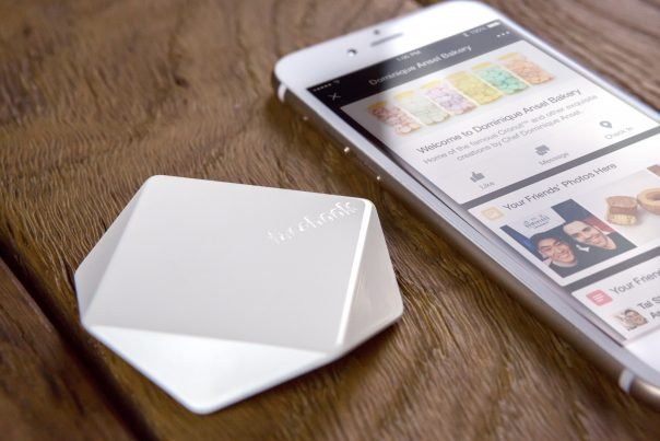 Facebook Place Tips : Balise bluetooth de proximité (beacon)