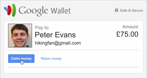 Gmail : Demander de l'argent avec Google Wallet