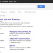 Google : La barre de navigation noire est de retour