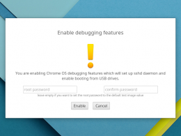 Google Chrome OS : Debugging features