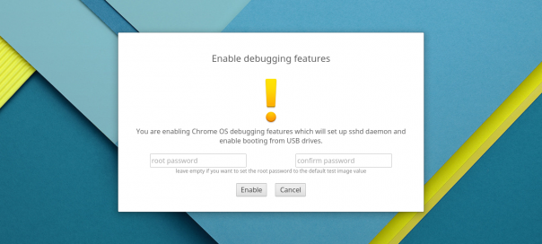Chrome OS : Booter sur le port USB pour installer un OS alternatif