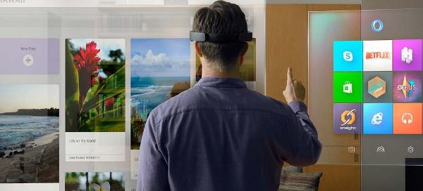 Windows 10 compatible avec le casque HoloLens dès l'an prochain