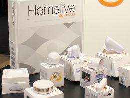 Homelive : Pack d'objets connectés