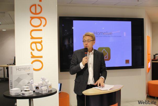 Homelive : Présentation d'Orange - Pierre-Antoine Badoz