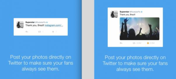 Twitter suggère à de gros comptes d'abandonner Instagram