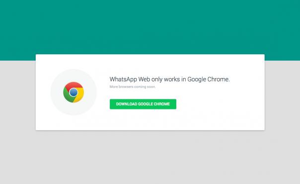 WhatsApp : Google Chrome