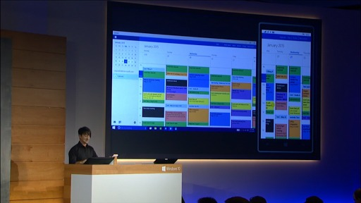 Windows 10 : Interface adaptée à l'équipement