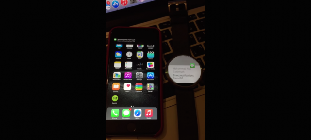 Android Wear & iOS : Notifications