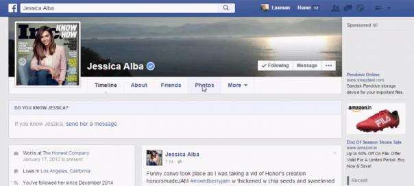 Facebook : Supprimer un album de photos grâce à une faille
