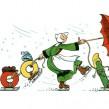 Google : Bécassine, la bande dessinée en doodle