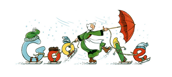 Google : Doodle Bécassine