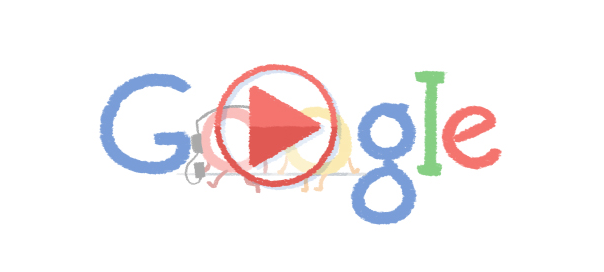 Google : Doodle Saint Valentin