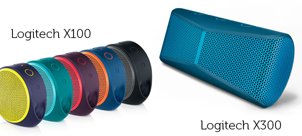 Logitech X100 & X300