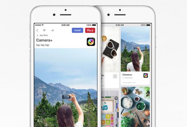 Pinterest : App Pins