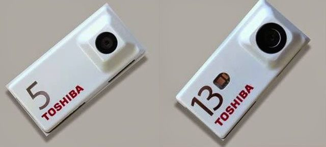 Project Ara : Modules photo de Toshiba