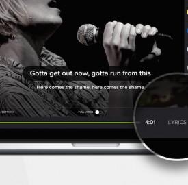 Spotify : Les paroles de chansons en un clic de souris