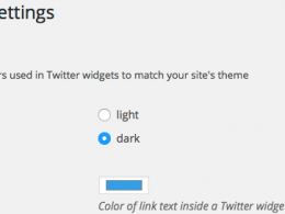 Twitter : Plugin WordPress