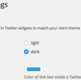 Twitter : Plugin WordPress officiel à télécharger