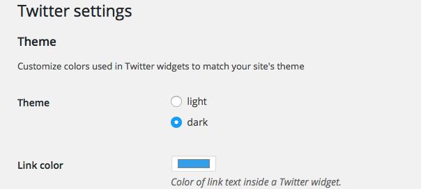 Twitter : Plugin WordPress