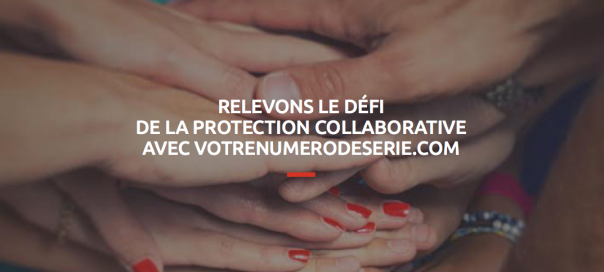 Votrenumerodeserie.com : Plateforme de protection collaborative