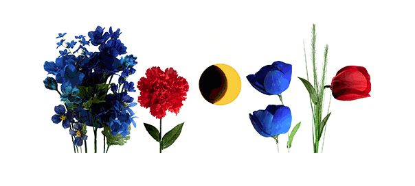 Google : Doodle Equinoxe de printemps